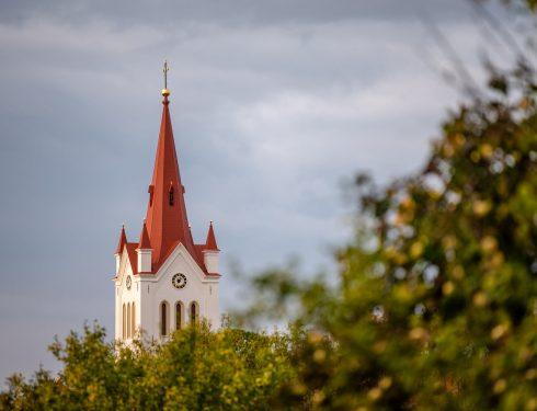 Cēsu Svētā Jāņa luterāņu baznīcas restaurācija un labiekārtošana, jumta seguma nomaiņas darbi